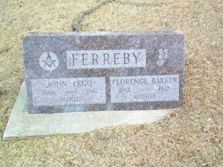 BARKER FERREBY, FLORENCE - Antelope County, Nebraska   FLORENCE BARKER FERREBY - Nebraska Gravestone Photos