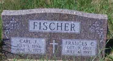 FISCHER, CARL F - Antelope County, Nebraska   CARL F FISCHER - Nebraska Gravestone Photos