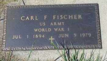 FISHER, CARL F (MILITARY) - Antelope County, Nebraska | CARL F (MILITARY) FISHER - Nebraska Gravestone Photos