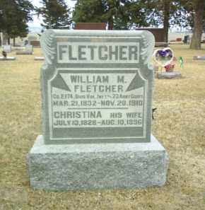 FLETCHER, CHRISTINA - Antelope County, Nebraska | CHRISTINA FLETCHER - Nebraska Gravestone Photos