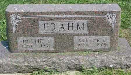 FRAHM, DOLLIE L. - Antelope County, Nebraska   DOLLIE L. FRAHM - Nebraska Gravestone Photos