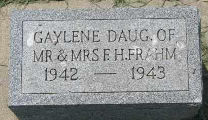 FRAHM, GAYLENE - Antelope County, Nebraska | GAYLENE FRAHM - Nebraska Gravestone Photos