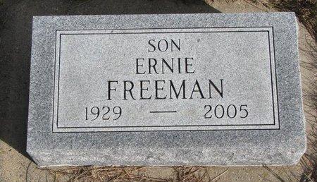 FREEMAN, ERNIE - Antelope County, Nebraska   ERNIE FREEMAN - Nebraska Gravestone Photos