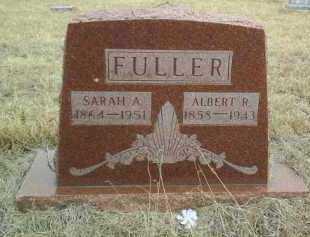 FULLER, ALBERT - Antelope County, Nebraska | ALBERT FULLER - Nebraska Gravestone Photos