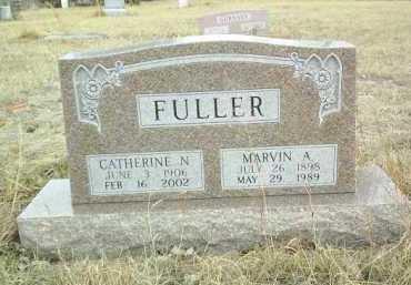FULLER, MARVIN - Antelope County, Nebraska   MARVIN FULLER - Nebraska Gravestone Photos