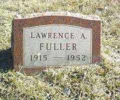 FULLER, LAWRENCE - Antelope County, Nebraska | LAWRENCE FULLER - Nebraska Gravestone Photos
