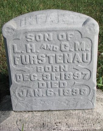 FURSTENAU, INFANT SON - Antelope County, Nebraska | INFANT SON FURSTENAU - Nebraska Gravestone Photos