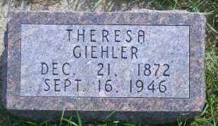 GIEHLER, THERESA - Antelope County, Nebraska | THERESA GIEHLER - Nebraska Gravestone Photos