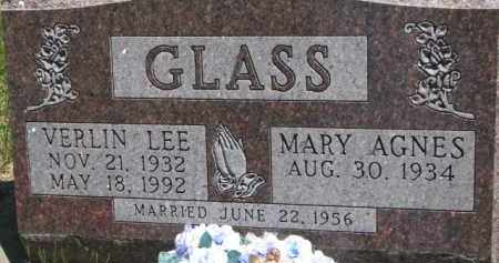 GLASS, VERLIN LEE - Antelope County, Nebraska | VERLIN LEE GLASS - Nebraska Gravestone Photos
