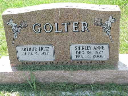 GOLTER, SHIRLEY ANNE - Antelope County, Nebraska | SHIRLEY ANNE GOLTER - Nebraska Gravestone Photos