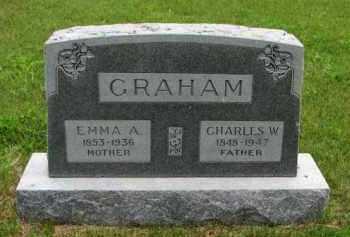GRAHAM MILLER, EMMA A - Antelope County, Nebraska | EMMA A GRAHAM MILLER - Nebraska Gravestone Photos