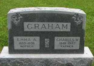 GRAHAM, EMMA A - Antelope County, Nebraska | EMMA A GRAHAM - Nebraska Gravestone Photos