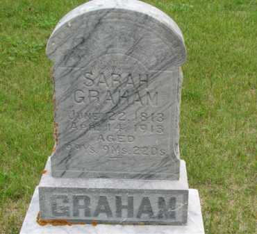 BANKS GRAHAM, SARAH - Antelope County, Nebraska | SARAH BANKS GRAHAM - Nebraska Gravestone Photos