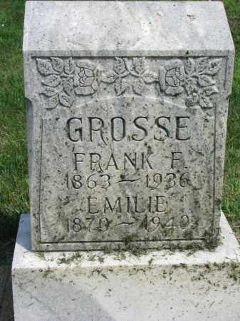 GROSSE, FRANK F. - Antelope County, Nebraska   FRANK F. GROSSE - Nebraska Gravestone Photos