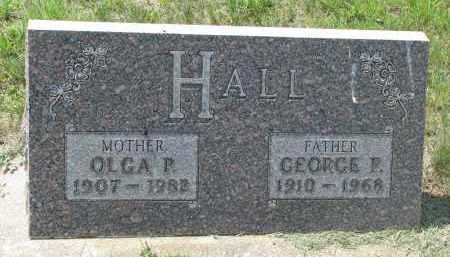 HALL, OLGA P. - Antelope County, Nebraska   OLGA P. HALL - Nebraska Gravestone Photos