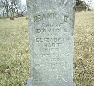 HART, FRANK E - Antelope County, Nebraska | FRANK E HART - Nebraska Gravestone Photos