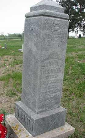 HASKIN, SAMUEL J. - Antelope County, Nebraska | SAMUEL J. HASKIN - Nebraska Gravestone Photos