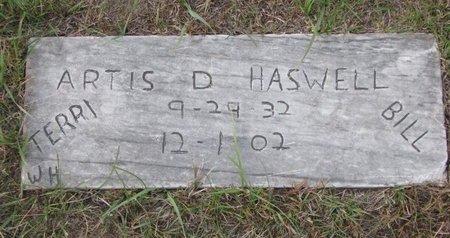 HASWELL, ARTIS D. - Antelope County, Nebraska   ARTIS D. HASWELL - Nebraska Gravestone Photos