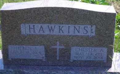 HAWKINS, CHESTER A - Antelope County, Nebraska | CHESTER A HAWKINS - Nebraska Gravestone Photos