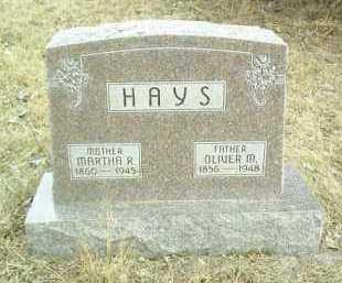 HAYS, OLIVER - Antelope County, Nebraska   OLIVER HAYS - Nebraska Gravestone Photos