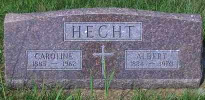 HECHT, ALBERT - Antelope County, Nebraska | ALBERT HECHT - Nebraska Gravestone Photos