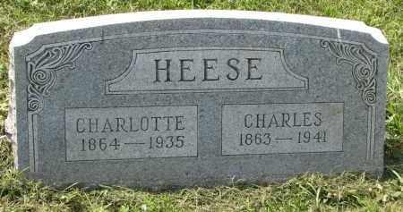 HEESE, CHARLOTTE - Antelope County, Nebraska | CHARLOTTE HEESE - Nebraska Gravestone Photos