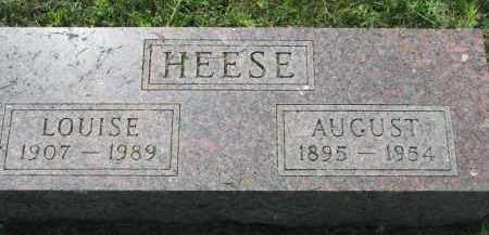 HEESE, LOUISE - Antelope County, Nebraska | LOUISE HEESE - Nebraska Gravestone Photos