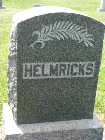 HELMRICKS, FAMILY STONE - Antelope County, Nebraska   FAMILY STONE HELMRICKS - Nebraska Gravestone Photos