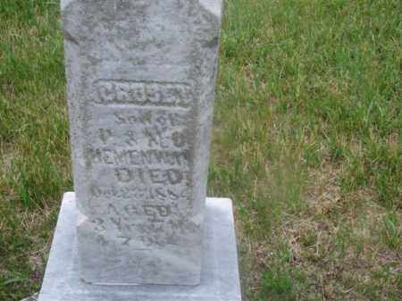 HEMENWAY, CROSBY - Antelope County, Nebraska | CROSBY HEMENWAY - Nebraska Gravestone Photos