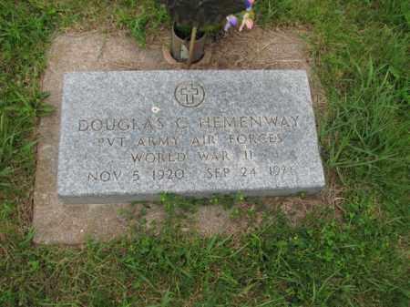 HEMENWAY, DOUGLAS C - Antelope County, Nebraska   DOUGLAS C HEMENWAY - Nebraska Gravestone Photos
