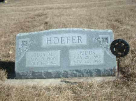 MOCK HOEFER, ELGA M - Antelope County, Nebraska | ELGA M MOCK HOEFER - Nebraska Gravestone Photos