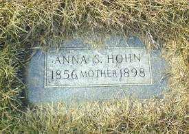 HOHN, ANNA S - Antelope County, Nebraska | ANNA S HOHN - Nebraska Gravestone Photos