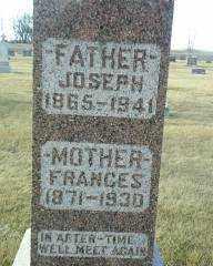 HOHN, FRANCES - Antelope County, Nebraska   FRANCES HOHN - Nebraska Gravestone Photos