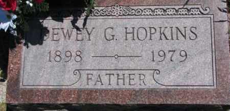 HOPKINS, DEWEY G. - Antelope County, Nebraska | DEWEY G. HOPKINS - Nebraska Gravestone Photos