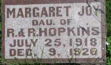 HOPKINS, MARGARET JOY - Antelope County, Nebraska | MARGARET JOY HOPKINS - Nebraska Gravestone Photos