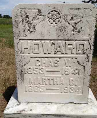 HOWARD, CHARLES V. - Antelope County, Nebraska | CHARLES V. HOWARD - Nebraska Gravestone Photos