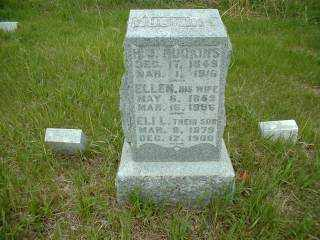 HUCKINS, ELI - Antelope County, Nebraska | ELI HUCKINS - Nebraska Gravestone Photos