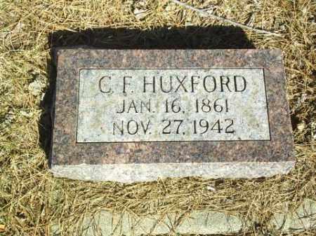HUXFORD, C.F. - Antelope County, Nebraska | C.F. HUXFORD - Nebraska Gravestone Photos