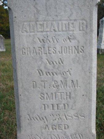 JOHNS, ADELAIDE R. (CLOSE UP) - Antelope County, Nebraska   ADELAIDE R. (CLOSE UP) JOHNS - Nebraska Gravestone Photos