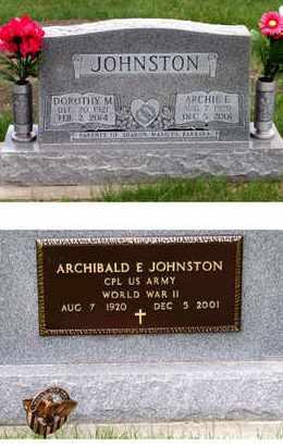 SHRADER JOHNSTON, DOROTHY - Antelope County, Nebraska | DOROTHY SHRADER JOHNSTON - Nebraska Gravestone Photos