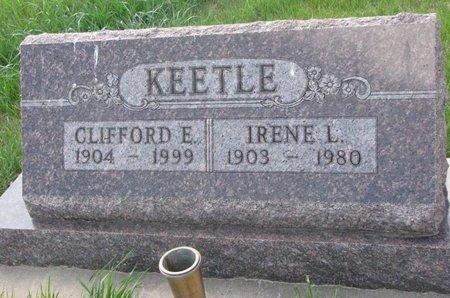 ARMSTRONG KEETLE, IRENE L. - Antelope County, Nebraska | IRENE L. ARMSTRONG KEETLE - Nebraska Gravestone Photos
