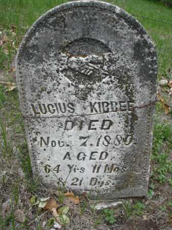 KIBBEE, LUCIUS - Antelope County, Nebraska | LUCIUS KIBBEE - Nebraska Gravestone Photos