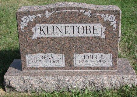 CLAUSSEN KLINETOBE, THERESA - Antelope County, Nebraska | THERESA CLAUSSEN KLINETOBE - Nebraska Gravestone Photos