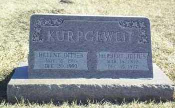 KURPGEWEIT, HERBERT JULIUS - Antelope County, Nebraska   HERBERT JULIUS KURPGEWEIT - Nebraska Gravestone Photos