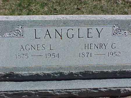 LANGLEY, AGNES L. - Antelope County, Nebraska | AGNES L. LANGLEY - Nebraska Gravestone Photos