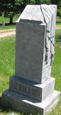 LIERMAN, AUGUST - Antelope County, Nebraska | AUGUST LIERMAN - Nebraska Gravestone Photos