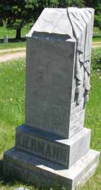 LIERMAN, AUGUST - Antelope County, Nebraska | AUGUST LIERMAN - Nebraska Gravestone Photos