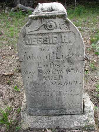 LOFTS, JESSIE R. - Antelope County, Nebraska | JESSIE R. LOFTS - Nebraska Gravestone Photos