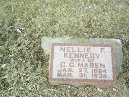 MABEN, NELLIE - Antelope County, Nebraska   NELLIE MABEN - Nebraska Gravestone Photos