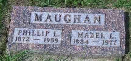 MAUGHAN, MABEL L - Antelope County, Nebraska | MABEL L MAUGHAN - Nebraska Gravestone Photos
